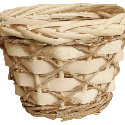 "5"" Woodchip, Willow & Vine Planter-Wald Imports"