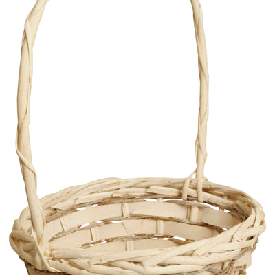 "8"" Woodchip, Willow & Vine Basket-Wald Imports"