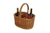 Willow Wine Basket-Wald Imports