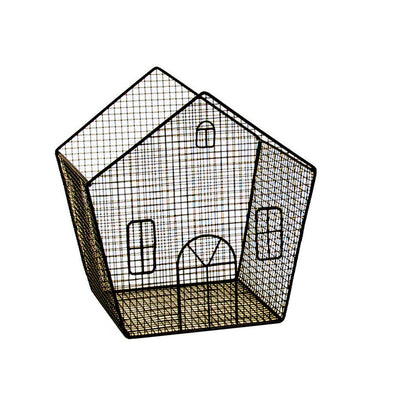Novelty Black Wire House-Wald Imports