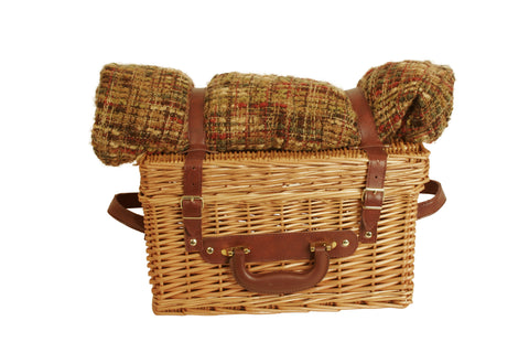 "16"" Willow Picnic Basket-Wald Imports"