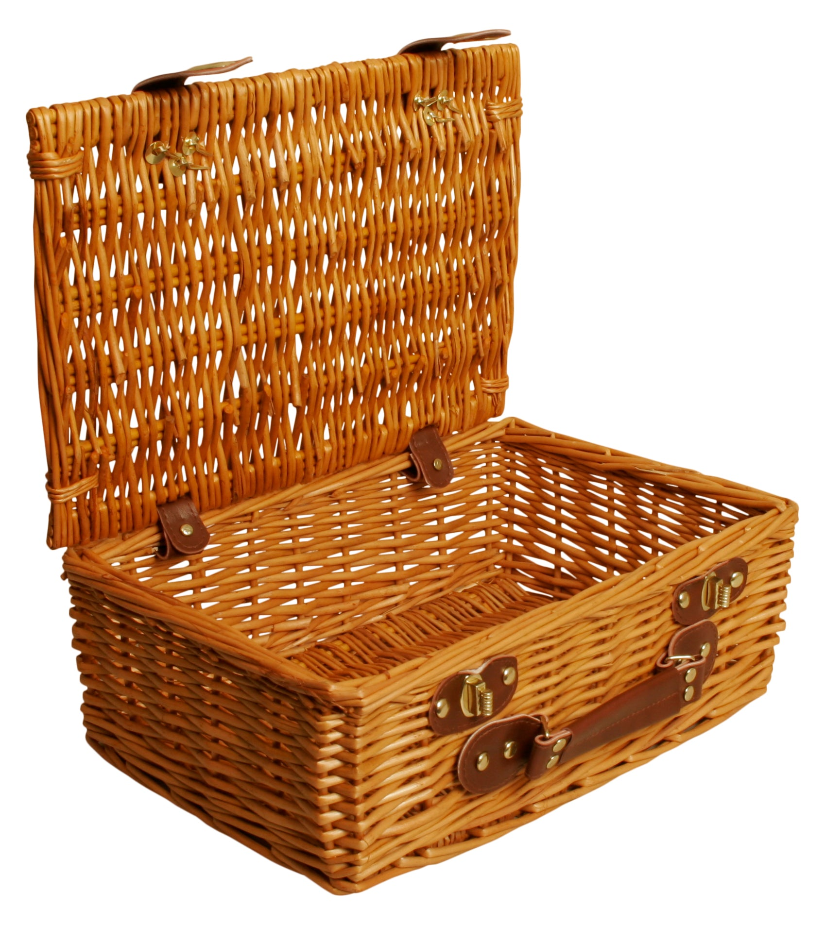 "13"" Willow Picnic Basket-Wald Imports"