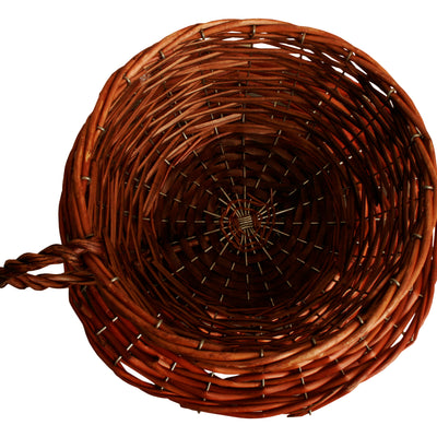 "10"" Willow Cup & Saucer Basket-Wald Imports"
