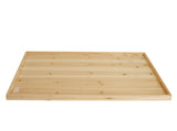 "24"" Rectangular Wood Tray"
