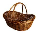 "19.5"" Brown Willow Basket-Wald Imports"