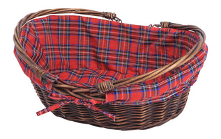 "13.5"" Plaid Cloth Liner-Wald Imports"