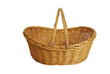 "19.5"" Honey Finish Willow Basket"