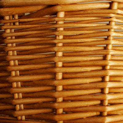 "19.5"" Honey Finish Willow Basket-Wald Imports"