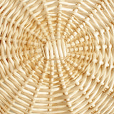 "12"" Round Wicker Tray Basket-Wald Imports"