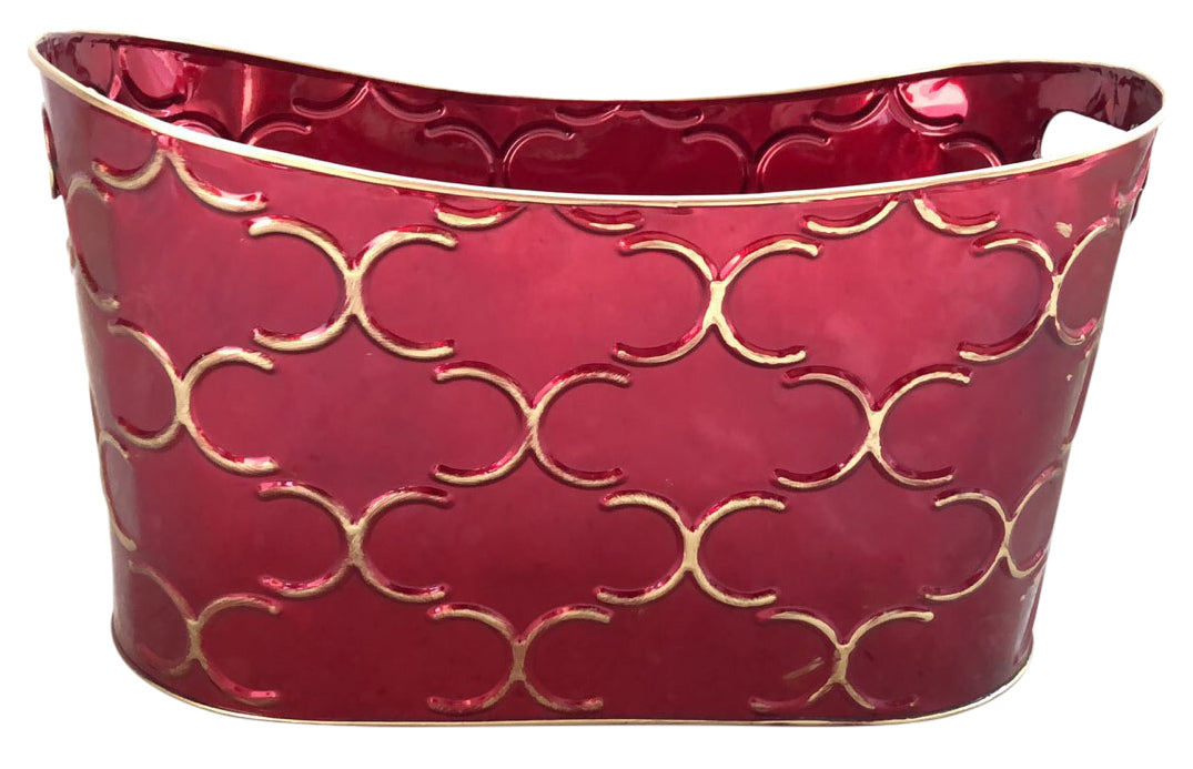 "15"" Royal Burgundy Container-Wald Imports"