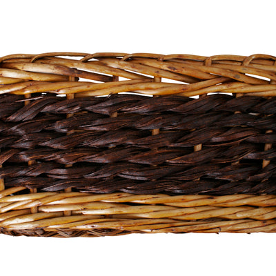 "15"" Willow & Seagrass Basket"
