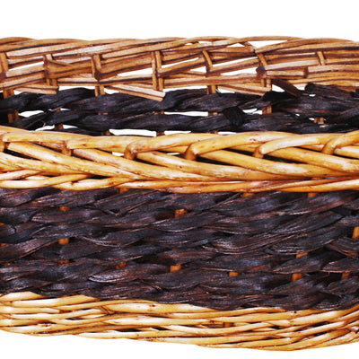 "15"" Willow & Seagrass Basket-Wald Imports"