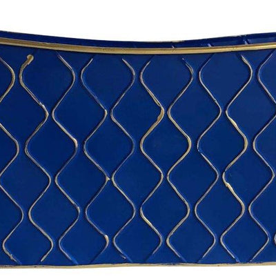 "22"" Royal Blue Container-Wald Imports"