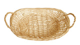 "12"" Natural Willow Basket Tray-Wald Imports"