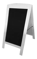 Display White Wood/Chalkboard Sign-Wald Imports
