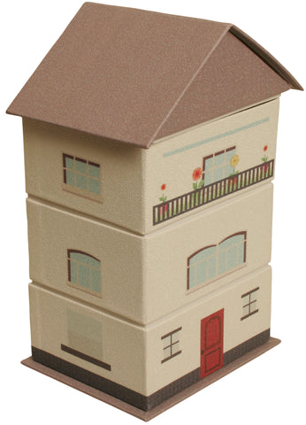 Beige Paperboard House Stackers