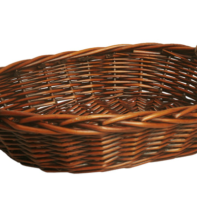 "18"" OVAL WILLOW BASKET-Wald Imports"