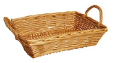 "16"" Rectangle Honey Willow Basket"