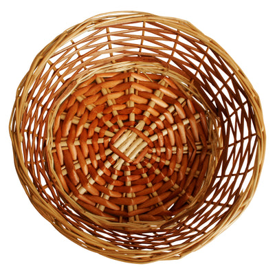 "10"" Two Tone Willow Bowl-Wald Imports"