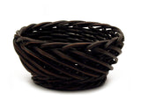"12"" Round Carved Willow Basket-Wald Imports"