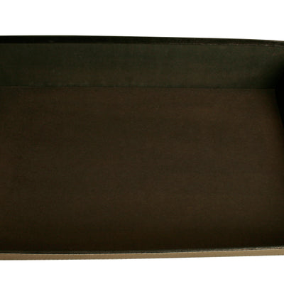 "17"" Black Decorative Tray-Wald Imports"