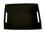 "10"" Black Decorative Tray-Wald Imports"