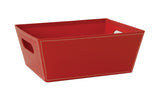 "10"" Red Decorative Tray-Wald Imports"