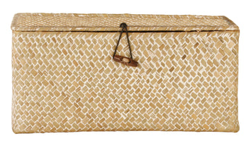 Whitewash Seagrass-Reed Trunk-Wald Imports