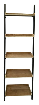 HOME DÉCOR Wood Ladder Shelf-Wald Imports