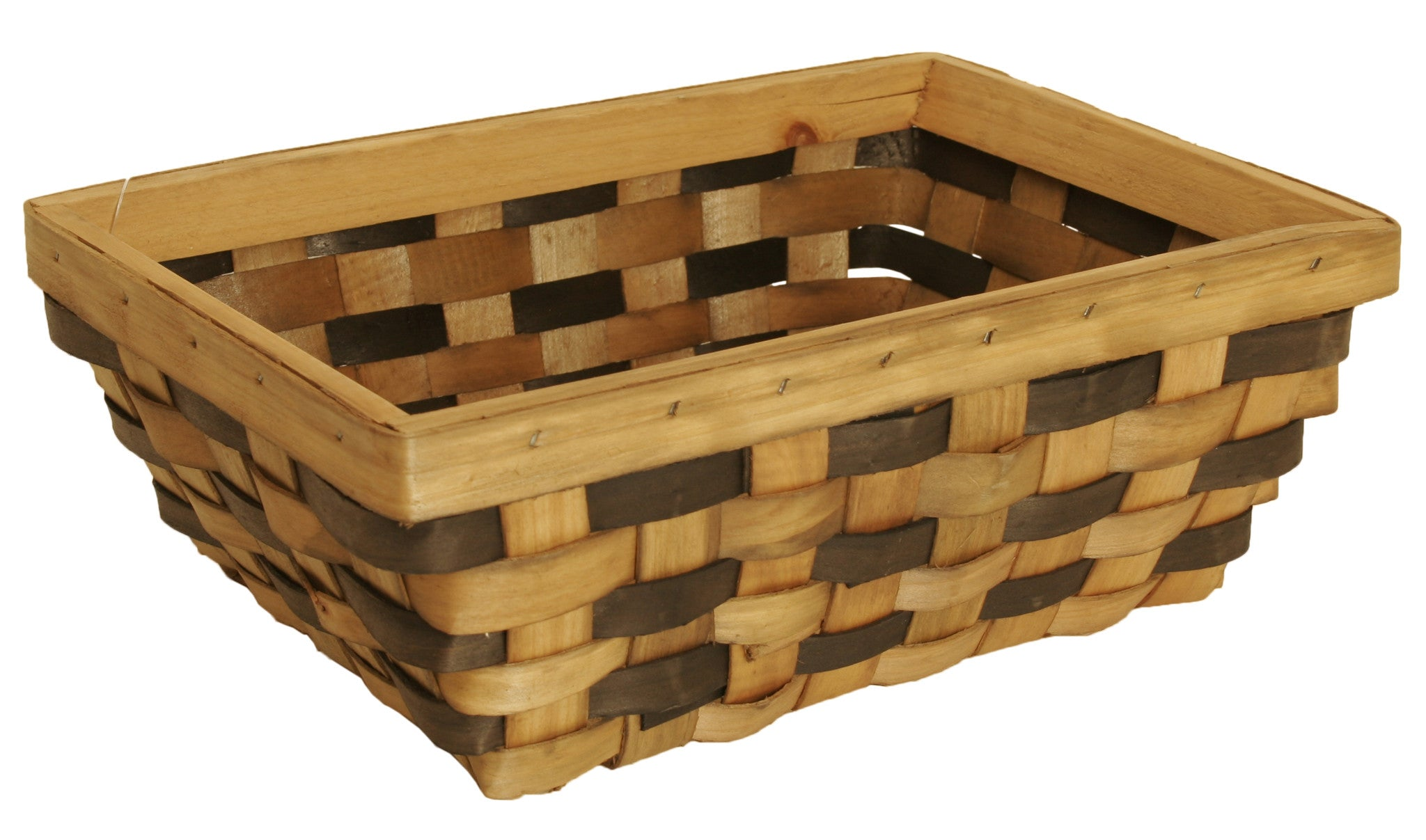 Medium Tuscana Wood Chip Basket-Wald Imports