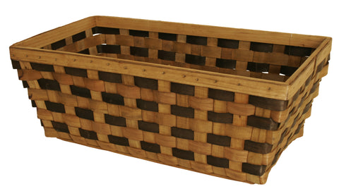 Extra-Large Tuscana Wood Chip Basket