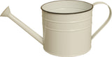 "5"" Pearl White Metal Watering Can"
