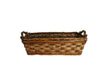 "13"" Carved Willow Basket"