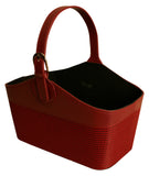 Burgundy Tote with Handle-Wald Imports