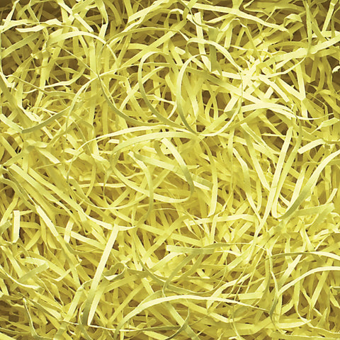Spring-Fill Veryfine Cut Paper Shred, 10lbs Citron-Wald Imports