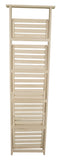 5 Shelf Wood Display Ladder-Wald Imports