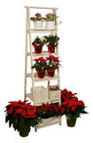 Five Tiered Rustic Garden Display Ladder