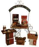Chalkboard Arch Metal Display Cart-Wald Imports