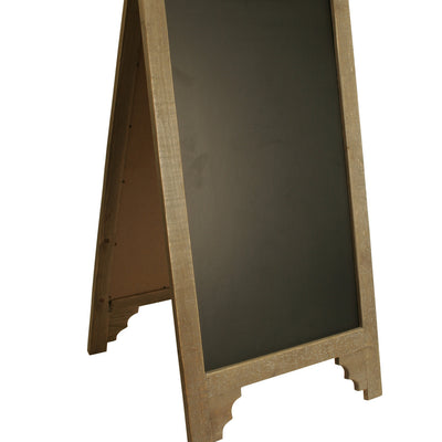 DisplayWood/ Chalk Board Sign-Wald Imports