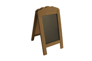 Display Sm Wood/Chalkboard Sign-Wald Imports