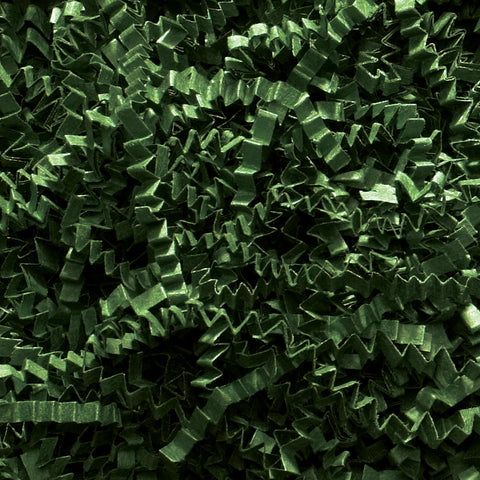 Spring-Fill Crinkle Cut Paper Shred, 10lbs Forest Green-Wald Imports