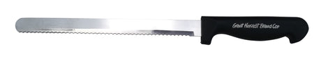 Black Composite Handle Bread Knife-Wald Imports