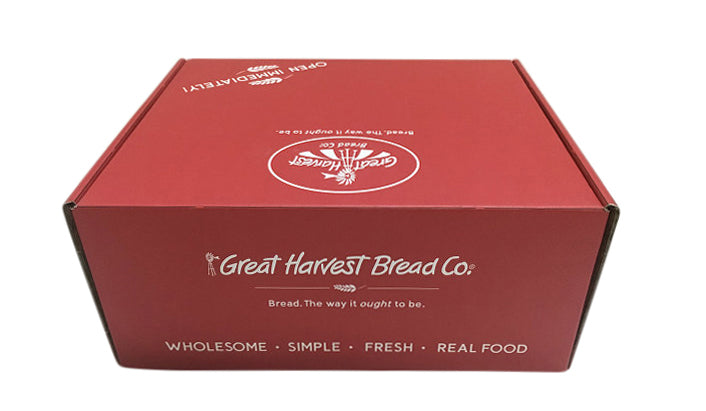 Holiday Red Baker's Box, Shippable-Wald Imports