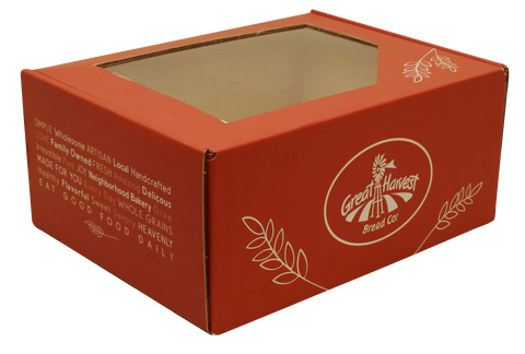 Holiday Red Baker's Box-Wald Imports