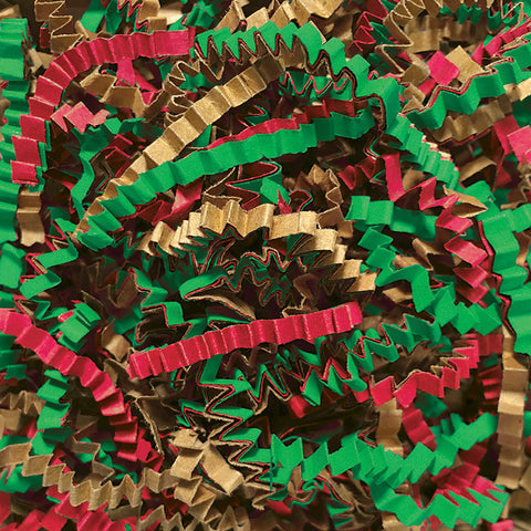 Spring-Fill Crinkle Cut Paper Shred, 40lbs Mistletoe-Wald Imports