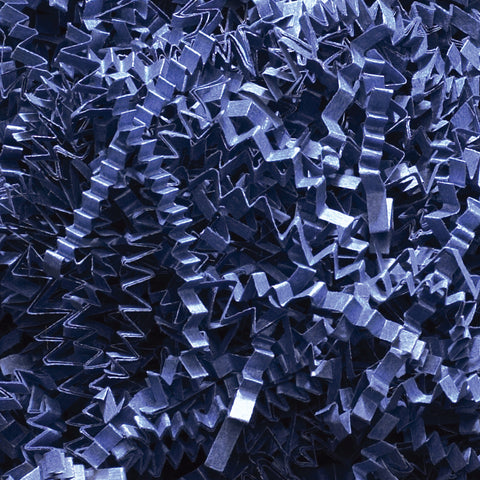 Spring-Fill Crinkle Cut Paper Shred, 10lbs Navy Blue-Wald Imports