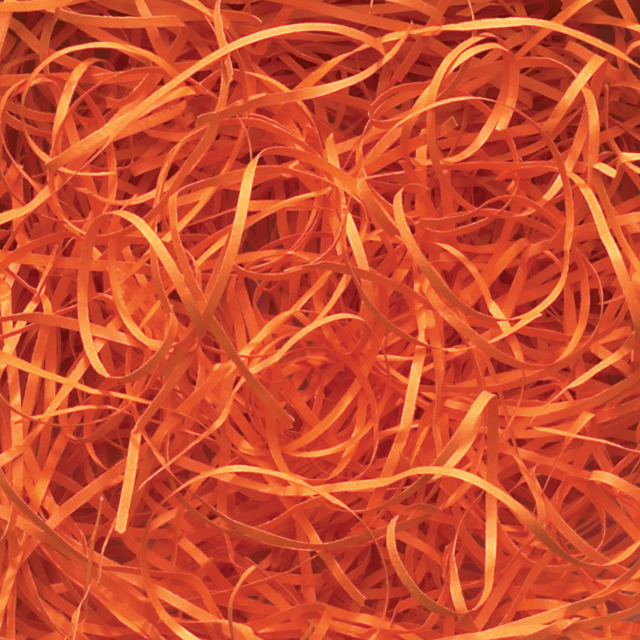 Spring-Fill Veryfine Cut Paper Shred, 10lbs Orange-Wald Imports