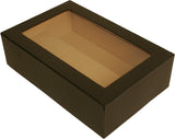Black Paperboard Box w/Single Wine Compartment-Wald Imports
