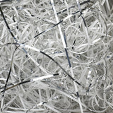 Spring-Fill Veryfine Cut Paper Shred, 10lbs White & Silver Blend-Wald Imports