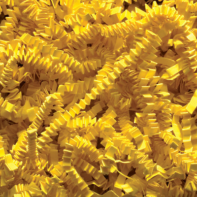 Spring-Fill Crinkle Cut Paper Shred, 10lbs Yellow-Wald Imports